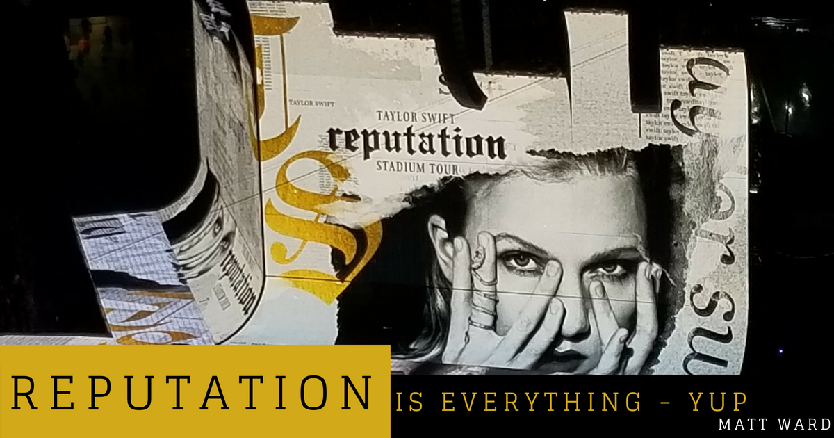 Reputation is Everything – YUP